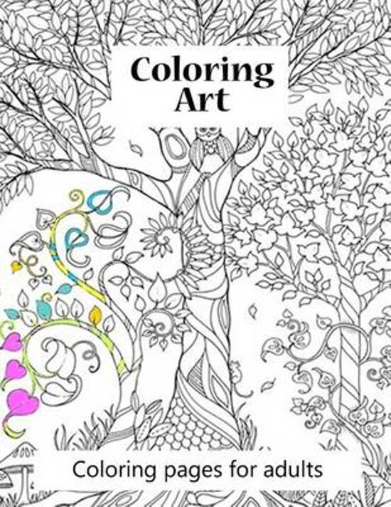 bol.com | Coloring Pages for Adults Coloring Art, S J Carney ...
