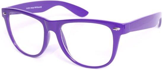 Nerdbril Paars