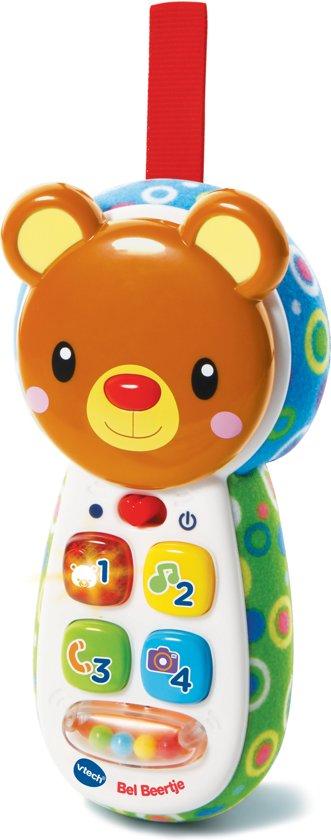 Afbeelding van VTech Baby Bel Beertje Bruin - Babytelefoon speelgoed