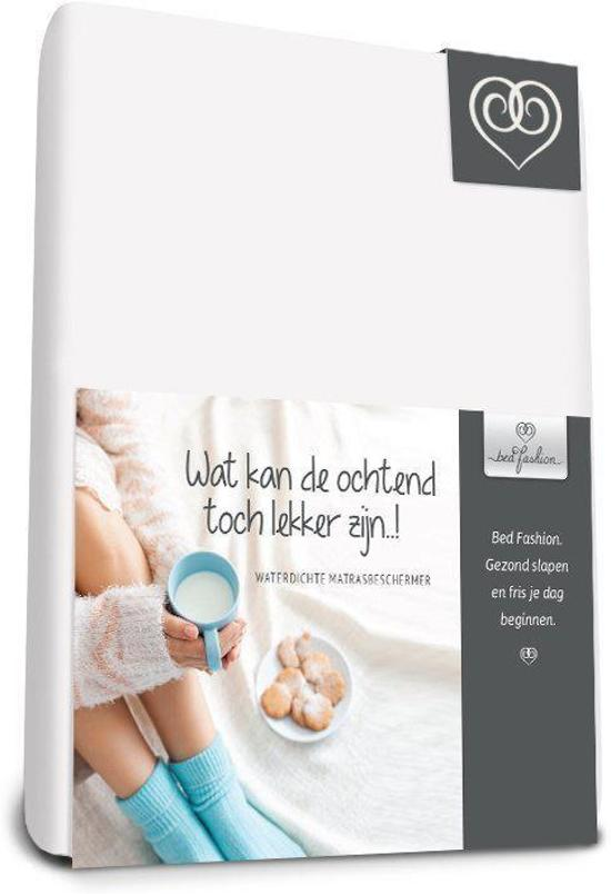 Bed-Fashion Waterdichte molton hoeslaken 90 x 200 cm