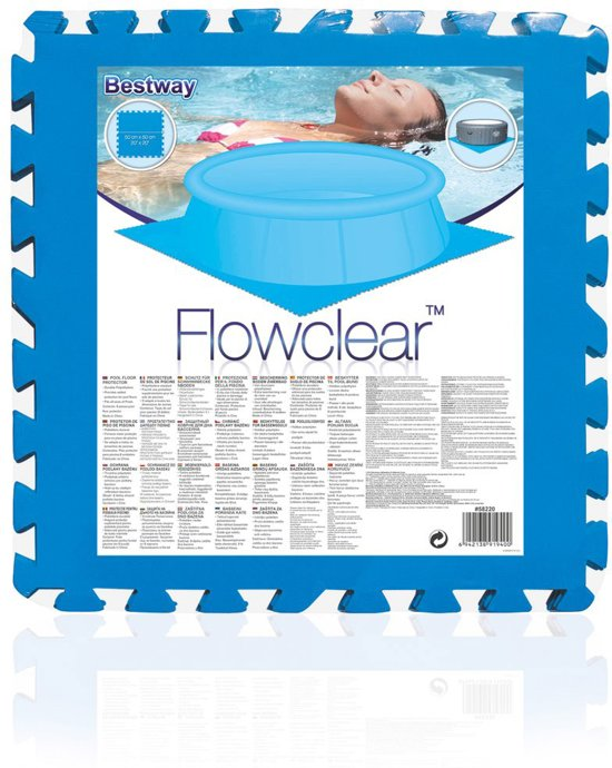 Bestway Zwembad Ondervloer 50 x 50 cm