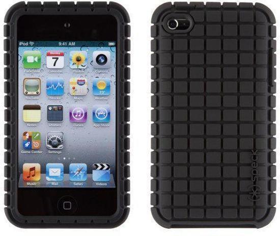 Speck iPod Touch 4 Pixel Skin - Hoesje - Zwart