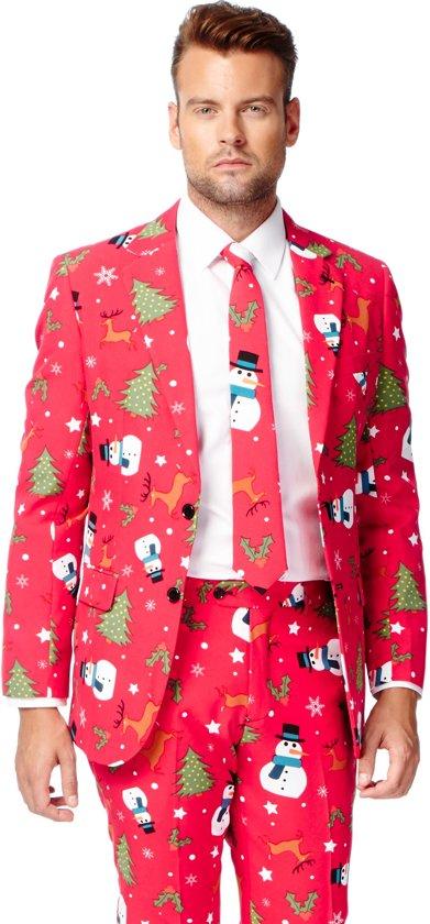 OppoSuits Christmaster - Kostuum - Maat 58