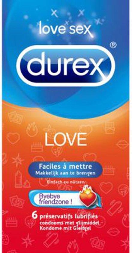 Durex Love Condooms - 6 stuks