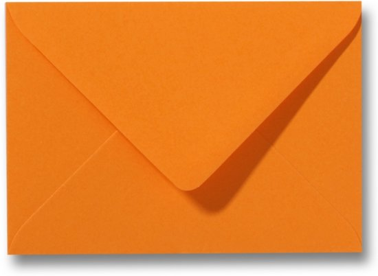 Envelop 9 x 14 Feloranje, 100 stuks