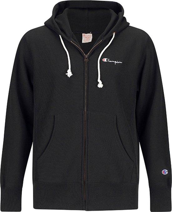 6e967a53cfb27b Champion Hooded Full Zip Sweatshirt Black