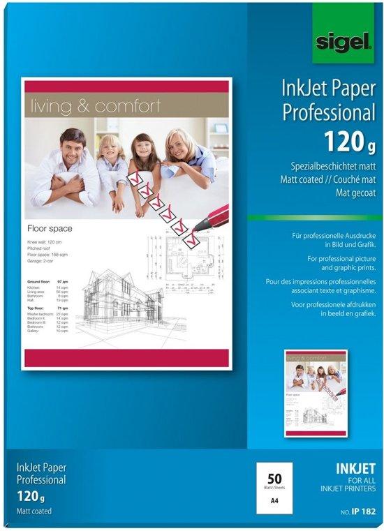 Sigel IP182 papier voor inkjetprinter