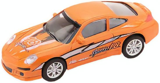 Johntoy Super Cars Die-cast Auto Oranje 10 Cm