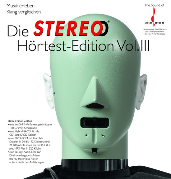 Stereo Hortest Vol.3 (Lp/Sacd/Dvd/Bluray)