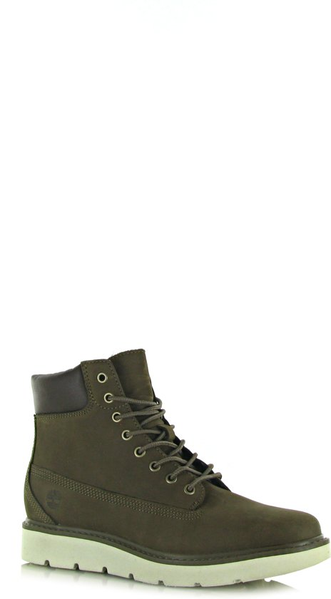 Timberland Dames Veterboots Kenniston 6in Lace Up Groen Maat 36