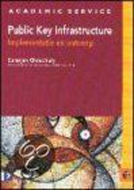 Cover van het boek 'Public Key infrastructure, implementatie en ontwerp'