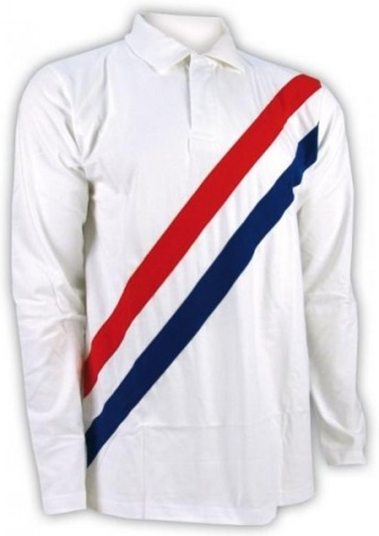 Nederlands Elftal T-shirt/Longsleeve - Holland - S - Wit