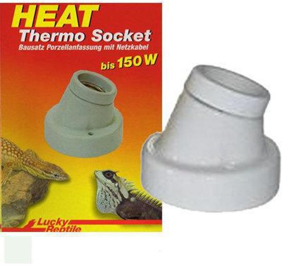 Lucky Reptile Thermo Socket -  angular lamp holder