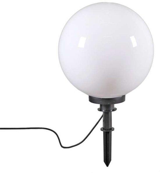QAZQA Ball 40 Spike - Prikspot buitenlamp - 1 lichts - 400 mm - wit