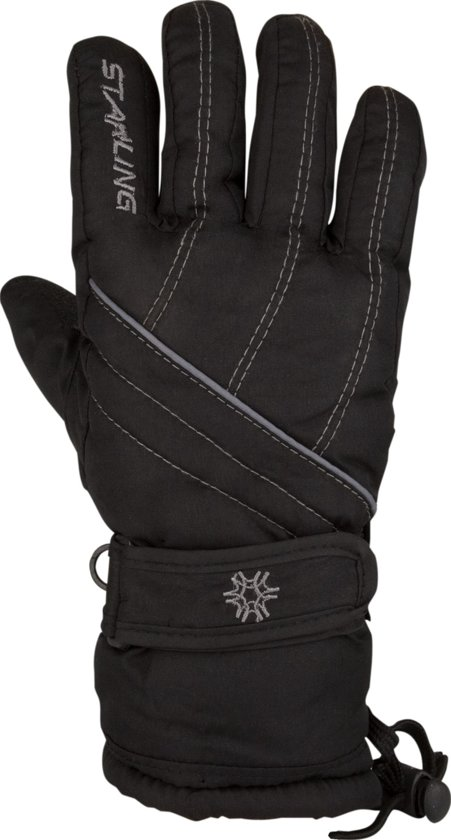 Starling 0465 Taslan Zwart - Wintersporthandschoenen - Unisex - Zwart - Maat 8