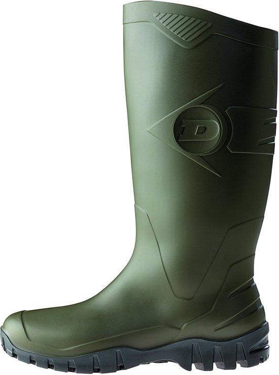 Dunlop K680011 Groen Knielaarzen PVC Uniseks 44