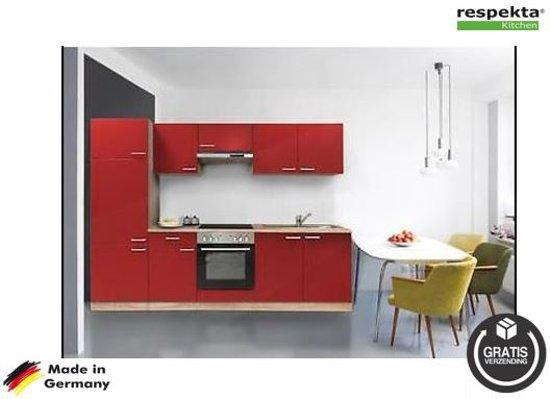 Respekta® rechte keuken 'Barcelona' compleet incl. apparatuur