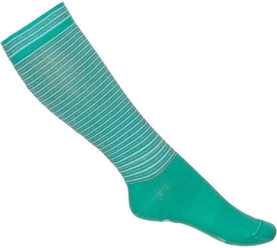 Mim-pi Meisjes Sokken - groen - Maat 6-8 yrs