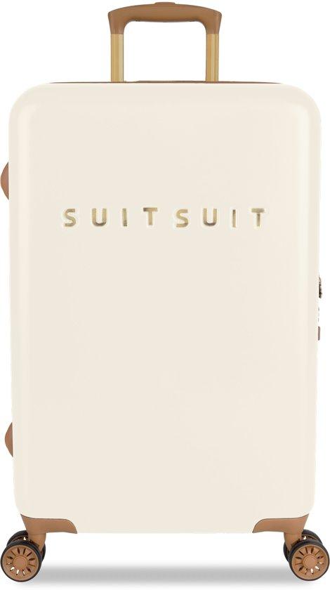 SUITSUIT Fab Seventies Reiskoffer 66 cm - Antique White