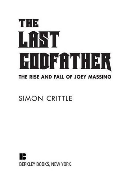 Boek cover The Last Godfather van Simon Crittle (Onbekend)