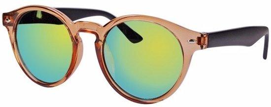 bol.com   Clubmaster dames zonnebril bruin model 7002 df9cecc896a4