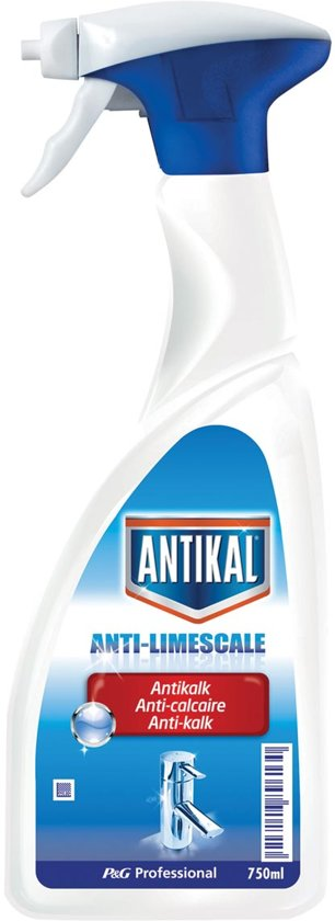 11x Antikal antikalk spray, flacon van 750 ml
