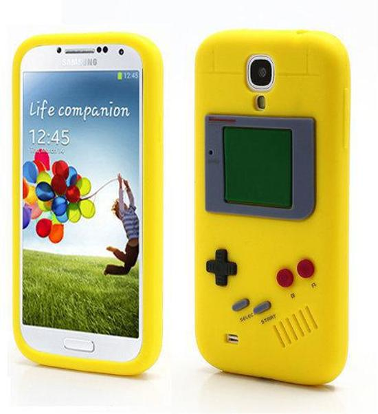 NDS Silicone hoesje Samsung Galaxy S4 geel