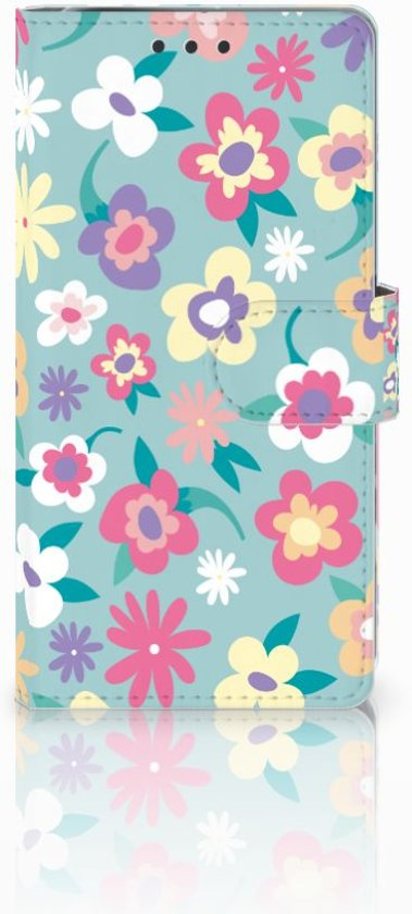 Sony Xperia X Performance Bookcase Design Flower Power