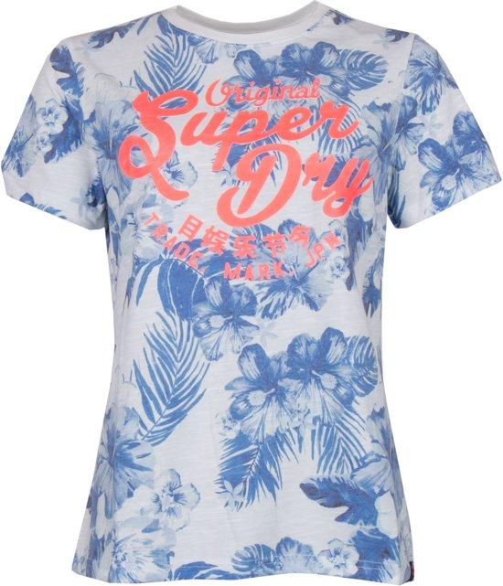 concurrerende prijs nieuwste geweldige kwaliteit Superdry Shirt - Maat M - Mannen - wit/blauw/oranje