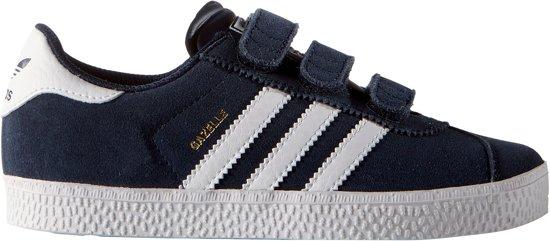adidas gazelle blauw zwart