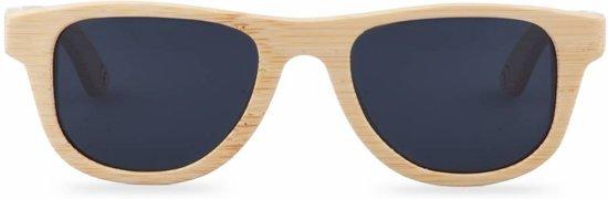 The Original - Small, zwarte glazen - Bamboe zonnebril
