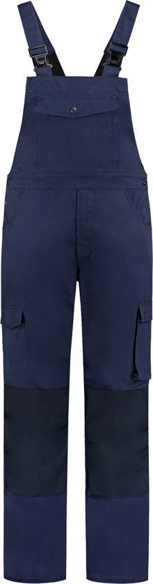 Yoworkwear Tuinbroek katoen/polyester navy maat 48