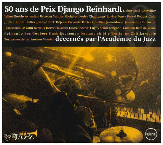 50 Ans De Prix Django Reinhardt-30tr/W/P De Bethmann/M Rocheman/F Moutin/Ao