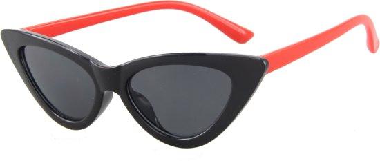 783e71e065f406 Zonnebril Kinderen - Cat Eye - UV 400 bescherming Cat. 3 - Glazen 45 mm