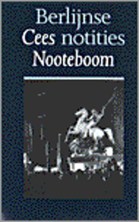 Berlijnse notities - Cees Nooteboom pdf epub