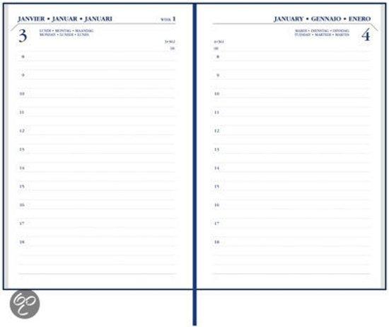 Bureau Agenda 2018-2019 18 maanden 1 dag per pagina