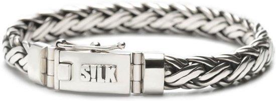 Silk Jewellery Armband zilver 'Shiva' 19cm 346-19