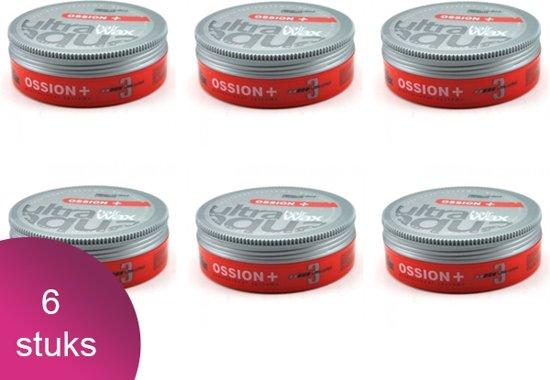 Ossion Hair Wax Ultra Aqua 6 Verpakking