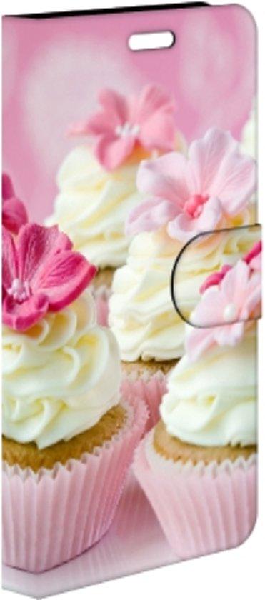 Huawei P9 Plus Uniek Hoesje Cupcakes met 3 Opbergvakjes in Thimister-Clermont
