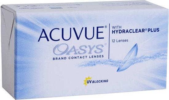-8,50 - ACUVUE OASYS - 12 pack - Weeklenzen - Contactlenzen - BC 8,80