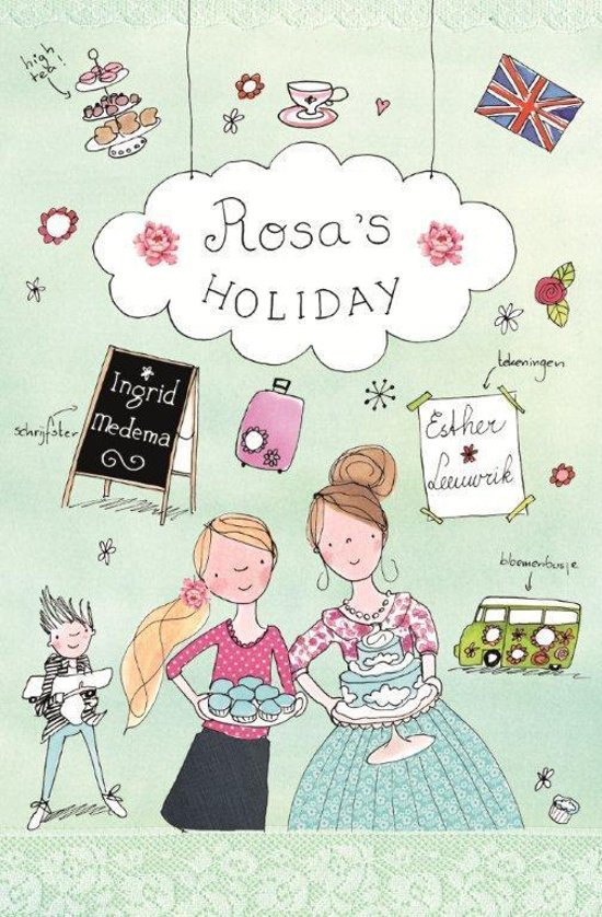 Supergezellige meidenserie 2 - Rosa's holiday