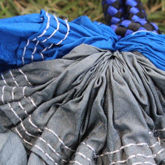 Luxe, Duurzame hangmat Grijs/Blauw