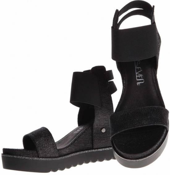 Sixty Seven - sleehak sandalen - maat 41 - dames - zwart