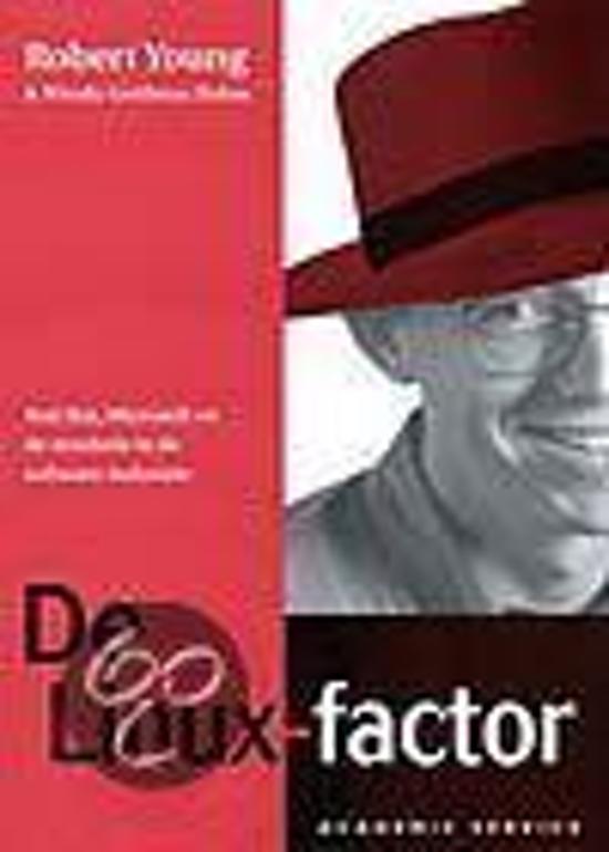 Cover van het boek 'De Linux-factor' van Robert Young en W. Goldman Rohm