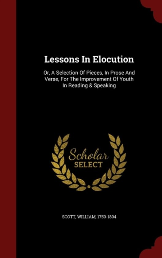 Lessons in Elocution