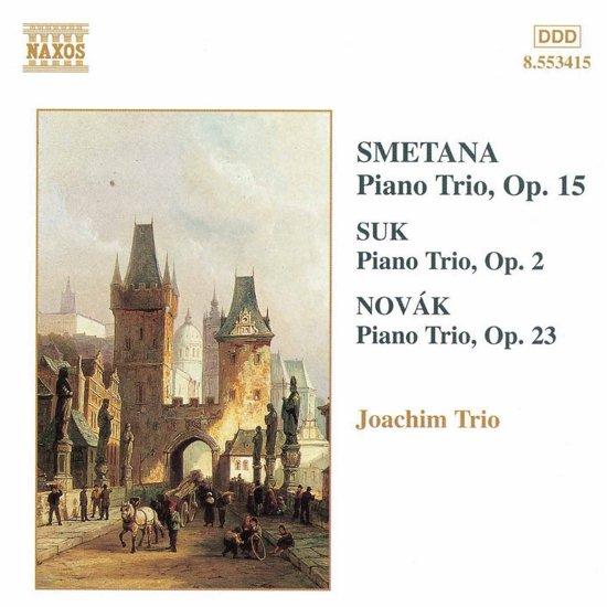 Smetana/Suk/Novak:Piano Trios