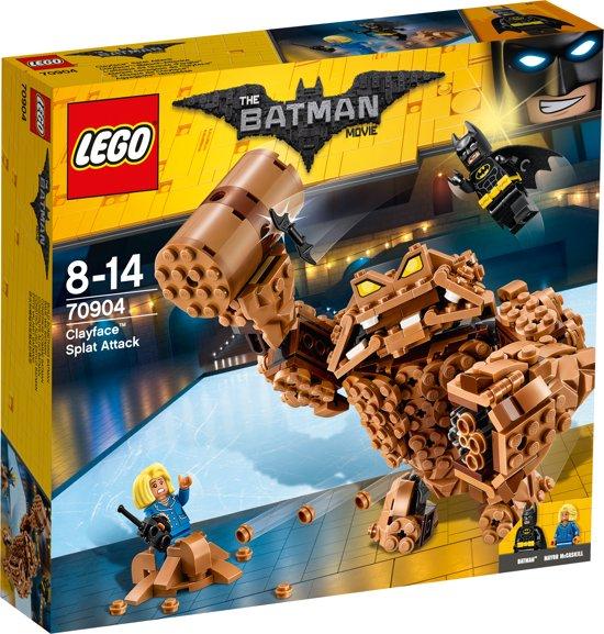 LEGO Batman Movie Clayface Verplettervuisten  - 70904