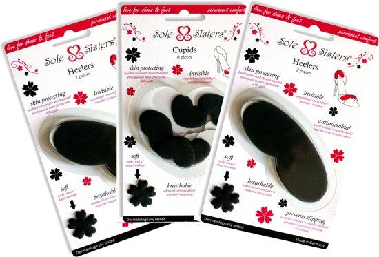 Heelers en Cupids van Sole Sisters – Anti-blaren pakket voor je hakschoenen