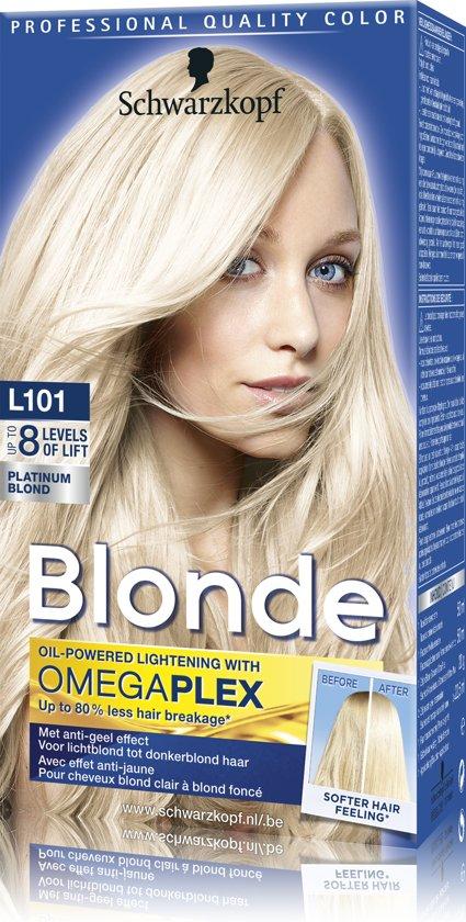 Schwarzkopf Blonde Platinum Blond L101 Haarverf - 1 stuk