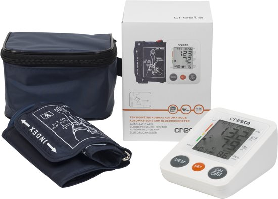 Cresta, BPM620 Digitale Bloeddrukmeter Bovenarm